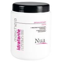 Nua — Увлажняющая маска с маслом зародышей пшеницы и пшеничным протеином, 1 л
