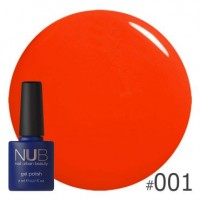 Гель-лак NUB HAWAIIAN SUNSET 001, 8 ml