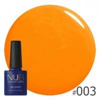 Гель-лак NUB HOT FRUIT 003, 8 ml