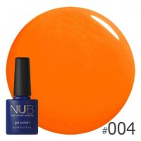 Гель-лак NUB SUMMER SUNLIGHT 004, 8 ml