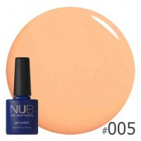 Гель-лак NUB ORANGE FOR EVER 005, 8 ml