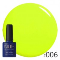 Гель-лак NUB PLANS FOR THE WEEKEND 006, 8 ml
