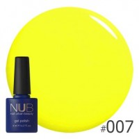 Гель-лак NUB YELLOW SENSATION 007, 8 ml