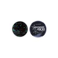 Гель-краска Oxxi Glitter Gel Hollywood №01 (цвет черный), 5 г
