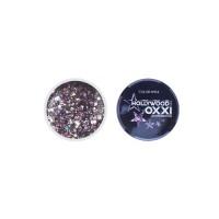 Гель-краска Oxxi Glitter Gel Hollywood №04  (цвет темно-фиолетовый), 5 г