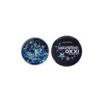 Гель-краска Oxxi Glitter Gel Hollywood №12  (цвет Синий), 5 г