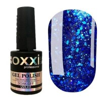 Гель-лак OXXI Professional Star Gel №008 (синий) 10 мл