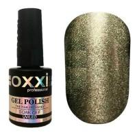Гель-лак OXXI Professional Moonstone Gel Лунный камень №003 (темно-серый с серебром) 10 мл