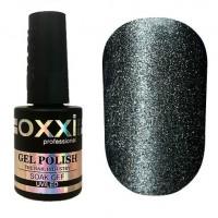 Гель-лак OXXI Professional Moonstone Gel Лунный камень №004 (серый с серебром) 10 мл