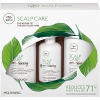 Набор Paul Mitchell Tea Tree Anti-Thinning Scalp Care Regimen Kit