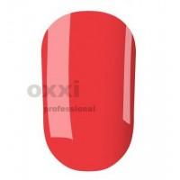 Гель-лак OXXI Professional №007 (красно-коралловый, неоновый), 8 мл