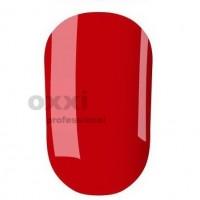 Гель-лак OXXI Professional №008 (красный, эмаль), 8 мл