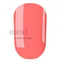 Гель-лак OXXI Professional №011 (розово-коралловый, эмаль), 8 мл