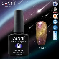 Гель-лак CANNI  №453 Chameleon Cat Eye