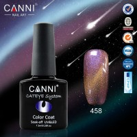 Гель-лак CANNI №458 Chameleon Cat Eye