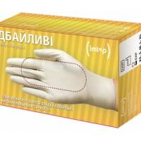 Перчатки латексные опудренные ДБАЙЛИВІ