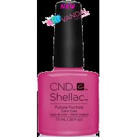 Гель-лак CND Shellac Future Fuchsia (розово-неоновый с микроблеском), 7,3 мл