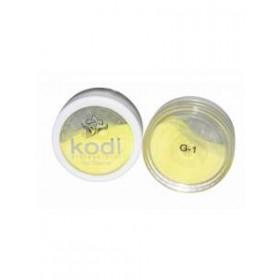Профессиональные цветные акрилы KODI c микроблеском