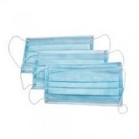 Маска медицинская трехслойная голубая 1 штука