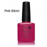 Гель-лак CND Shellac Pink Bikini (ярко-розовый, плотный, эмаль), 7,3 мл