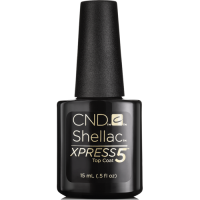 Xpress 5 Top Coat CND Shellac Закрепитель для гель-лака 15 мл NEW