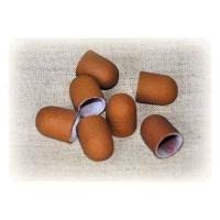 Колпачек d 13 мм наждачный педикюрный  коричневый 320 грит