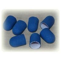 Колпачёк d 16 мм наждачный педикюрный  синий 150 грит
