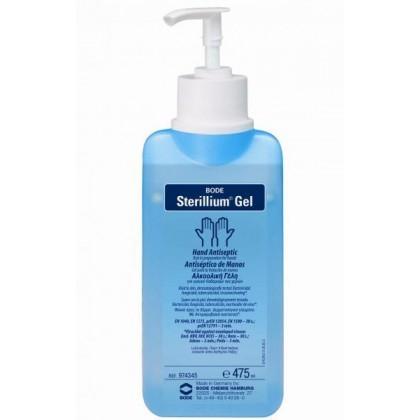 Стериллиум гель (Sterillium Gel) спиртовый антисептик для рук 475мл с дозатором.