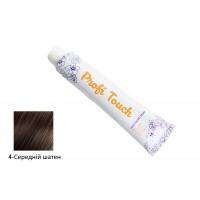 Крем-фарба для волосся Profi Touch (4-Середній шатен) 100мл