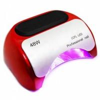 Лампа LED+ССFL 48 Вт Professional Nail L48-K18 Цвет красный