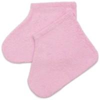 Носочки махровые для парафинотерапии, розовые