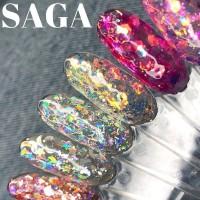 Гліттерний гель Saga Professional Galaxy Glitter