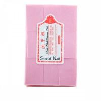 Салфетки розовые безворсовые 6х4 см