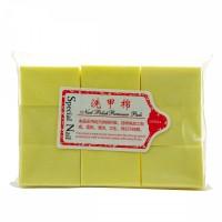 Салфетки желтые безворсовые 6х4 см 1000 шт