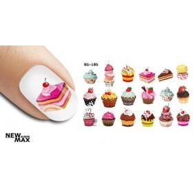 Слайдер-дизайны SD (отдельные элементы на часть ногтя)