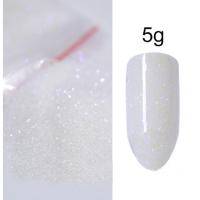 Песок для декора ногтей (белый)