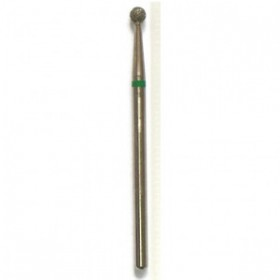 Насадка алмазная сфера зеленая D116S (d 3 мм)
