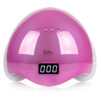 Лампа для маникюра Sun 5 48 Вт MIRROR PINK