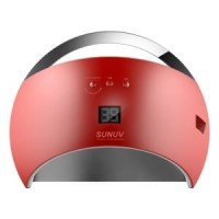 Светодиодная LED/UV лампа SUN6 48W Цвет Красный