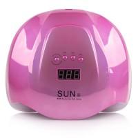 Лампа для маникюра SUN X 54 Вт MIRROR PINK