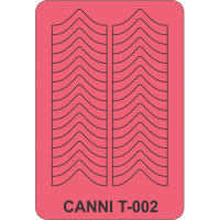 Трафарет Canni T-002