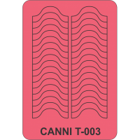 Трафарет Canni T-003