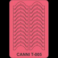 Трафарет Canni T-005