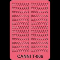 Трафарет Canni T-006