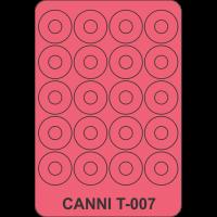 Трафарет Canni T-007