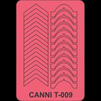 Трафарет Canni T-009