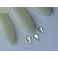 Стразы crystal AB капля №01-6-3,6 (упаковка 6шт.)