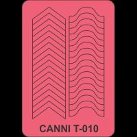 Трафарет Canni T-010