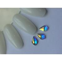 Стразы crystal AB капля №33-4-8,5 (упаковка 6шт.)
