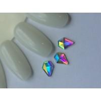 Стразы crystal AB бриллиант (упаковка 6шт.)